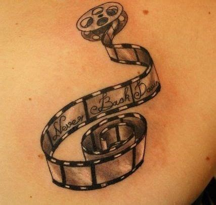 film reel tattoo designs 23 best images about cinepresa on