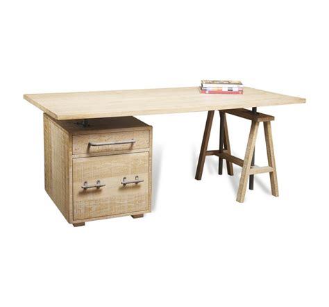 whitely country style white wash oak desk cabinet