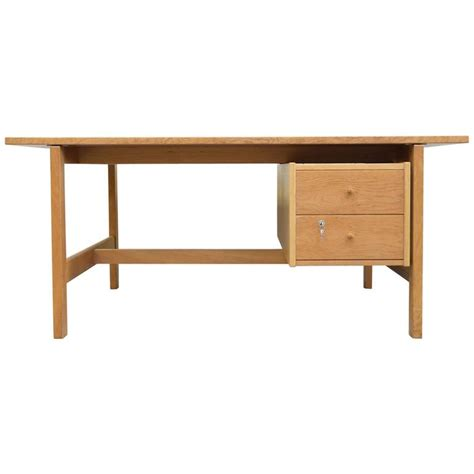 Hans Wegner Desk by Hans Wegner Desk Model 156 In Oak For Sale At 1stdibs