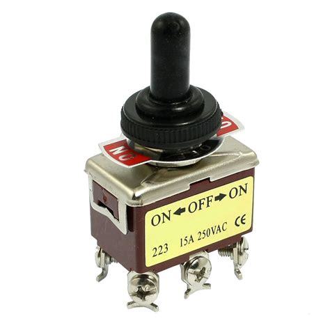 Promo Switch Lu On 3 Pin Rocker Switch Lu 3 Pin Kecil promotion ac 250v 15a 6 pin dpdt on on 3 position mini toggle switch in switches from home
