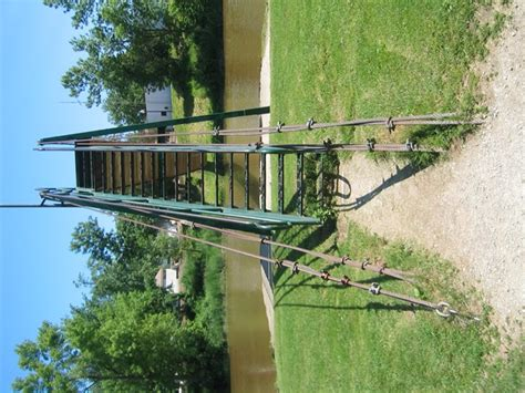 croswell swinging bridge historicbridges org croswell swinging bridge photo gallery