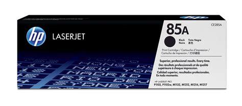 Toner Laser toner hp laserjet ce285 family print cartridges 85a