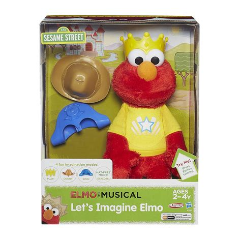 sesame toys playskool sesame let s imagine elmo