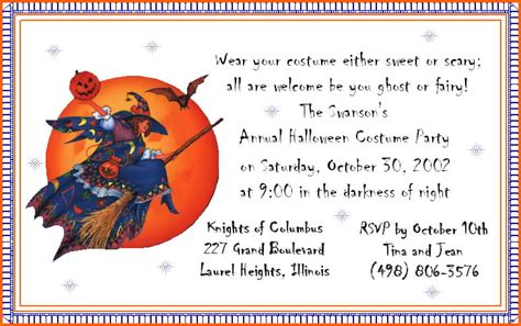 halloween birthday party invitation ideas bagvania