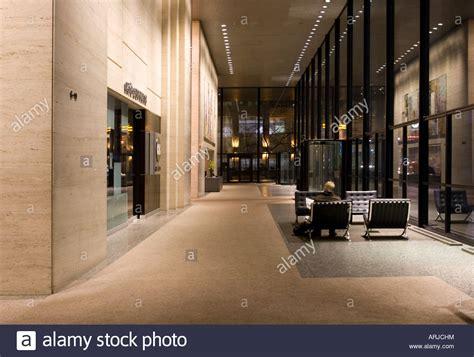 toronto dominion bank toronto dominion bank tower lobby toronto canada stock