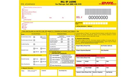 Dhl Express Shipping Tracking And Global English Autos Post Dhl Shipping Label Template