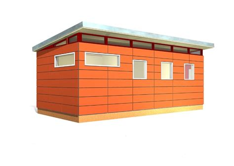 8 X 24 Shed by Modern Shed Kit 12 X 24 Prefabricated Shed Kits