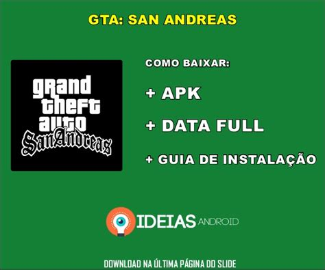 gta san andreas apk data gta san andreas apk data completo