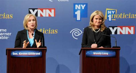 kirsten gillibrand debate gillibrand long differ on abortion gas drilling in