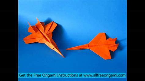 F 15 Origami - origami plane f 15