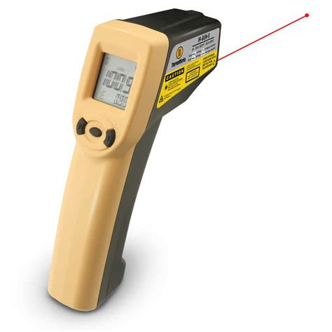 thermoworks ir gun industrial infrared thermometer