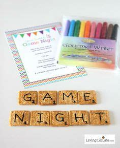 edible scrabble board ideas on
