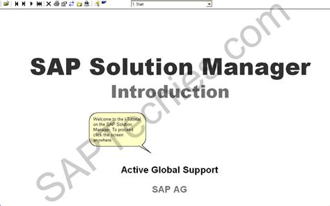 tutorial sap solution manager sap solution manager frequently asked questions