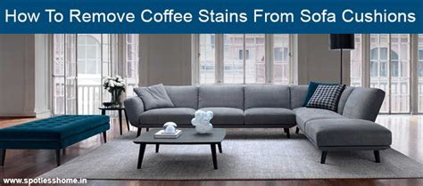 coffee stain on couch how to remove coffee stains from sofa cushions