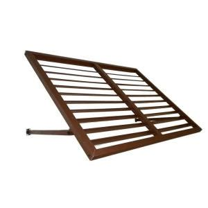 home depot window awnings beauty mark awntech s 5 ft bahama metal shutter awnings