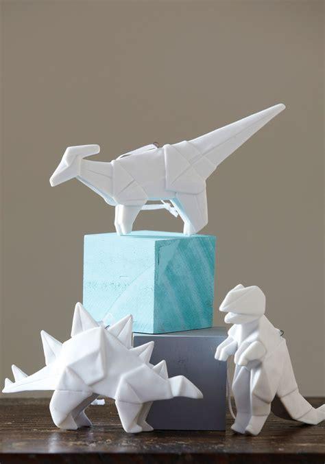 Origami Pottery - porcelain origami ornaments comot