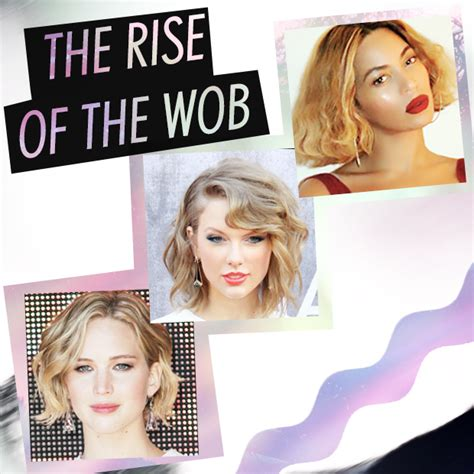 what does thr wob hairstyle look like the rise of the wob the new wavy bob hair extensions