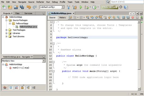 tutorial java using netbeans netbeans ide java quick start tutorial