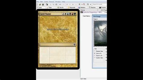 mtg make your own card how to make your own magic the gathering cards