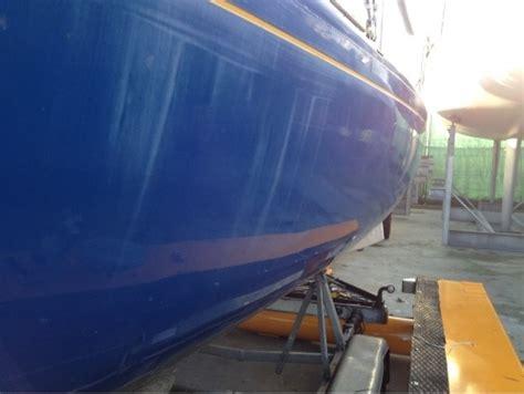 nadeel polyester boot boot poetsen scheepstechniek lauwersmeerscheepstechniek