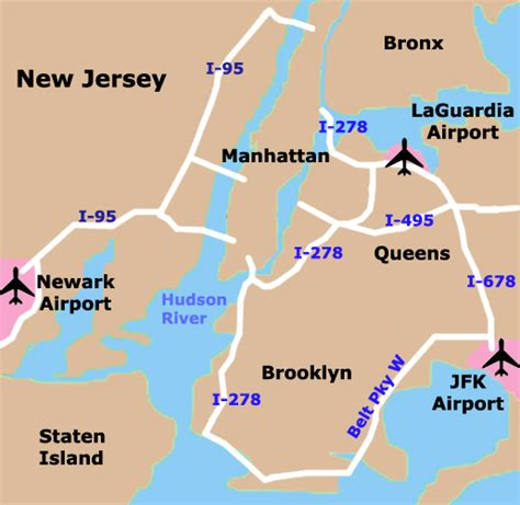 map of airports nyc tourist maps printable new york city map nyc tourist