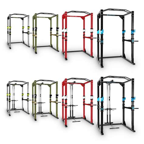 Racks Are Us Power Steel Rack Square Weight Lifting Multi Home Pull