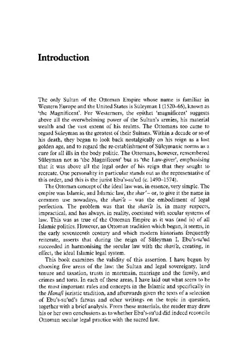 colin imber the ottoman empire ebu s su ud the islamic legal tradition colin imber
