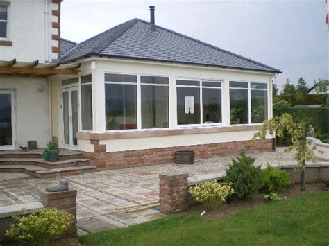 Sunroom Extension Boyle Builders Scotland Ltd New Home Builder Extension
