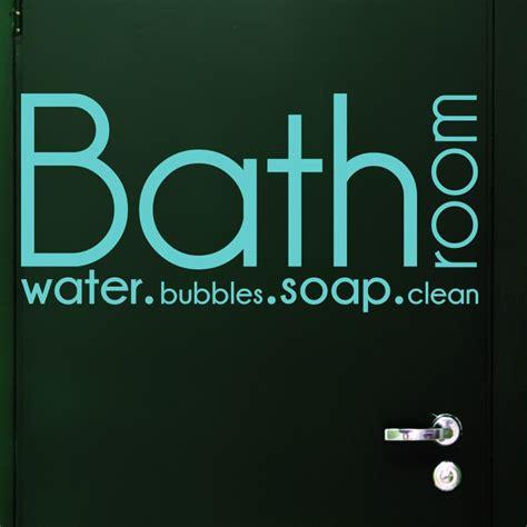 bathroom text sticker text for bathroom foor bathoom water bubbles