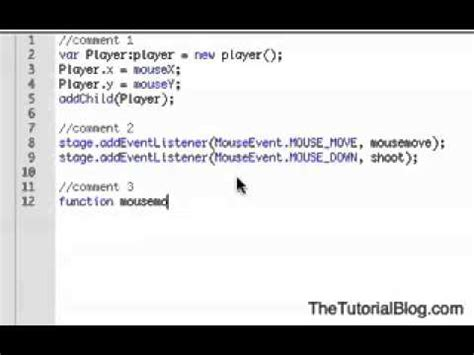 actionscript tutorial in flash for beginners basic flash actionscript 3 shooting game tutorial flash