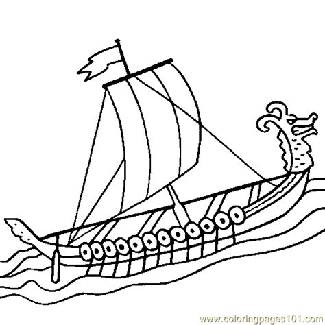 viking coloring pages pdf viking ship coloring page free water transport coloring