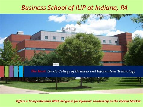 Eberly College Of Business Mba by 2 Ppt Summer Program Iup 2015