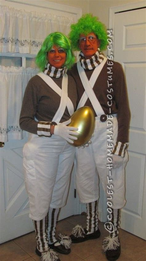 Coolest Handmade Costumes - cool oompa loompa costume the