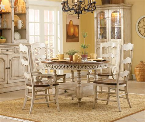 country kitchen dining sets summerglen country cottage table dining set by