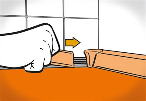 arbeitsplatten verbindungsschiene k 252 chenarbeitsplatte einbauen obi ratgeber