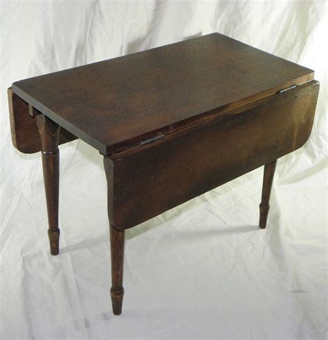 walnut drop leaf table walnut child s antique primitive drop leaf table ebay