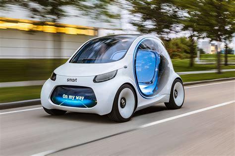 autonomous ai smart desk smart vision eq fortwo concept preview the future