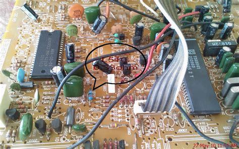 Tv Polytron Jadul menghilangkan ic tone kontrol r2s15900 pada polytron 21 slim sukabumi elektro