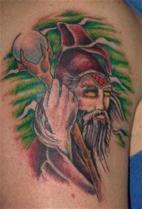 tribal wizard tattoos free wizard flash tribal flash designs gallery