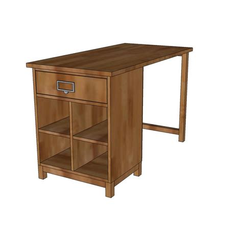 plans to build a standing desk woodworking projects plans