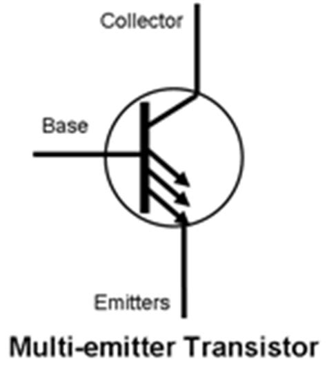 multi emitter transistor in bjt semiconductor primer semiconductors 101