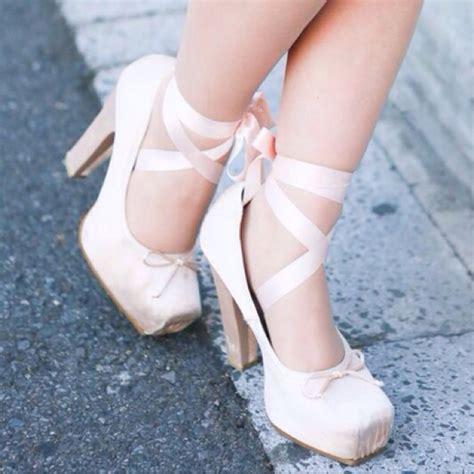 high heel ballerina shoes ballerina heels heels