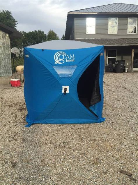 portable fish house portable fish house pop up high end fishing hunting and outdoor k bid
