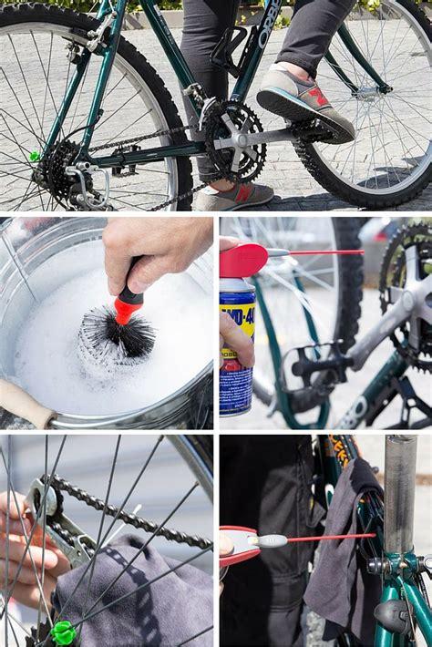 lubricar cadena bicicleta wd40 c 243 mo limpiar y lubricar una bicicleta bici pinterest