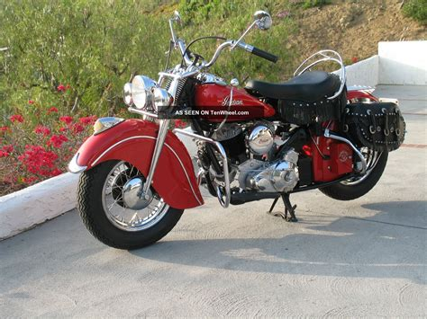 ferrari motorcycle 1947 indian chief motorcycle ferrari red classic