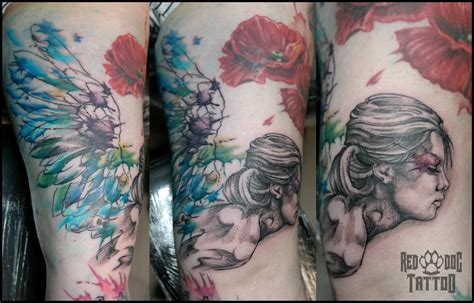 joses angel tattoo done at red dog tattoo benalmadena the world s most recently posted photos by red dog tattoo
