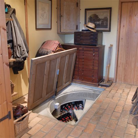 Trap Door Design | trap door wine cellar designs