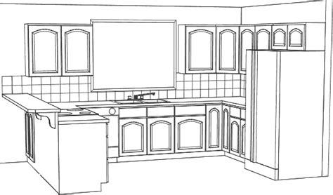 kitchen drawings simple u w tile gif 19095 bytes