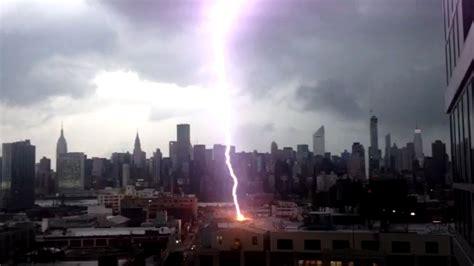 york lighting york ny nyc lightning strike on