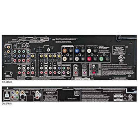 onkyo ht sp908b 860w 7 1 channel home theater system ht sp908b